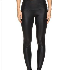 Onzie shiny black high rise leggings